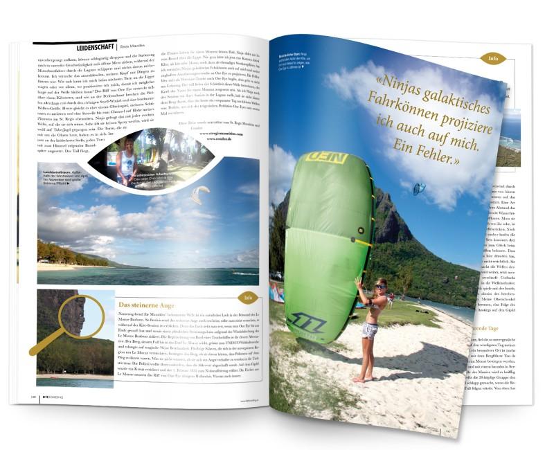 Kiteboarding Magazin